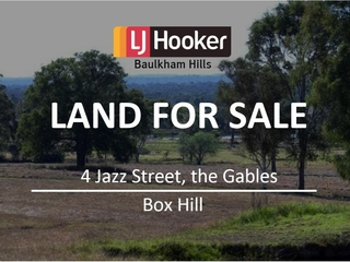 4 Jazz Street Box Hill , NSW, 2765