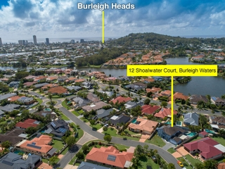 12 Shoalwater Court Burleigh Waters , QLD, 4220