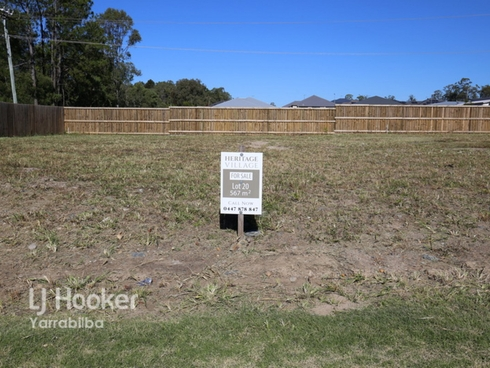 Lot 20/174 - 192 Green Road Heritage Park, QLD 4118