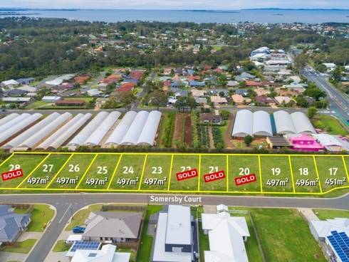 Lot 24/26 Somersby Court Birkdale, QLD 4159