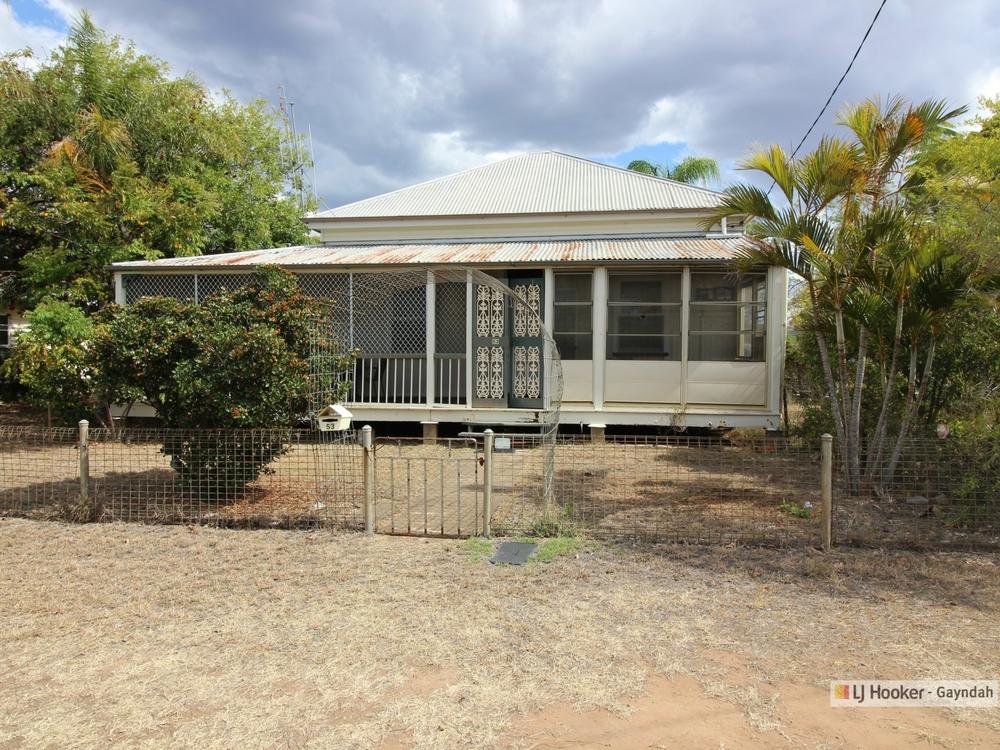53 Meson Street Gayndah, QLD 4625