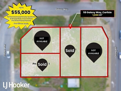 Lot 1/58 Galaxy Way Carlisle, WA 6101