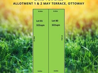 Lot 1 & 2/116 May Terrace Ottoway , SA, 5013